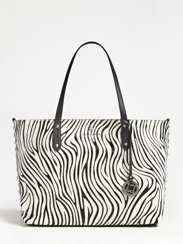 Opt for statement glam with the EVE TOTE BAG by GUESS LUXE