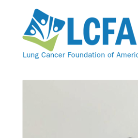 Young Myrtle Beach woman honors her father's legacy and raises awareness of Lung Cancer Foundation of America's mission by helping others weather the storm