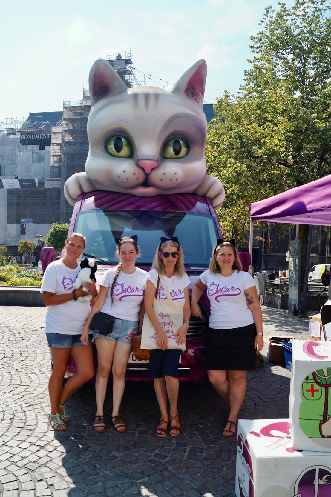 Tournée d'été de GAIA : la « catmobile » a fait étape ce jeudi à Liège