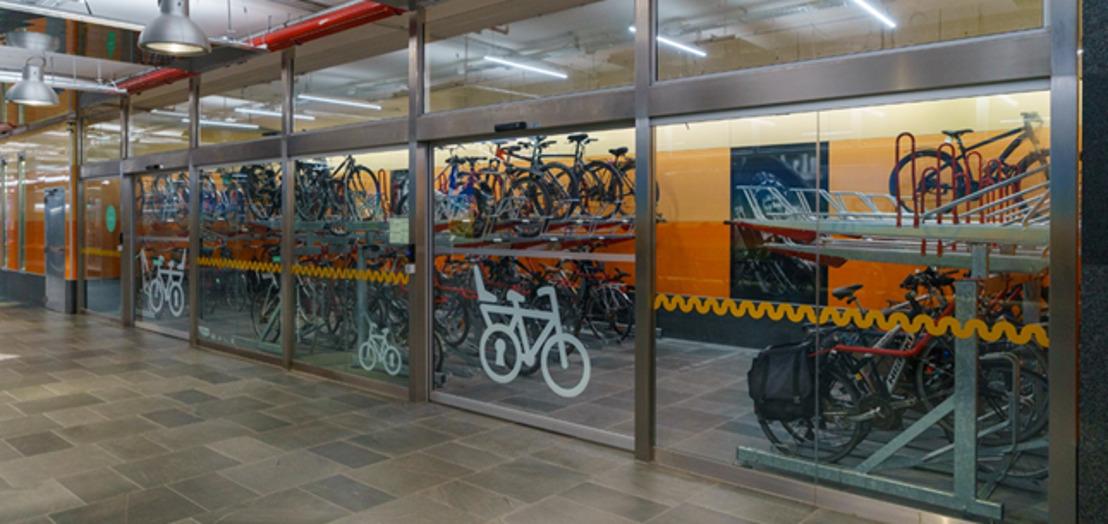 Meer veilige fietsparkeerplaatsen in Brussel