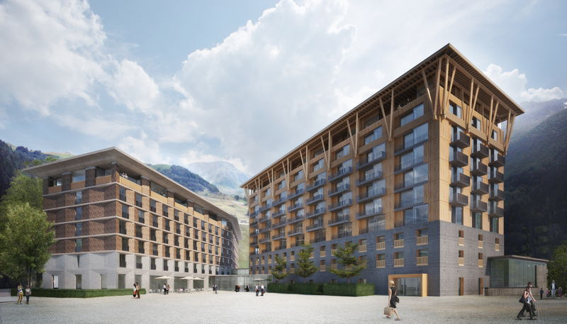 Gotthard Hotel and Residences