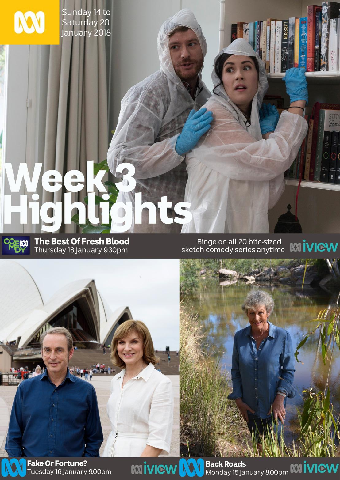 ABC TV Program Highlights - Week 3
