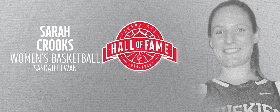 Crooks takes rightful place in Canada West Hall of Fame