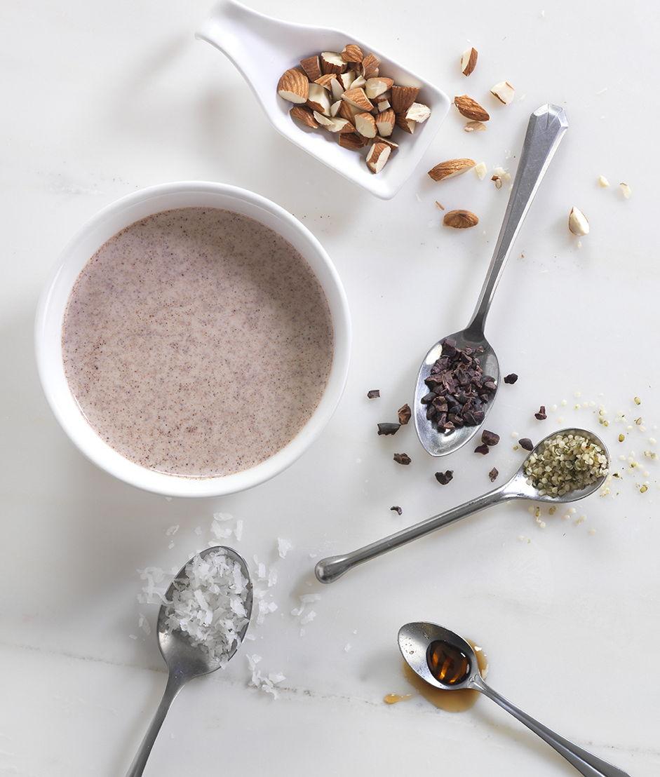 Amandel-cacaosoep (c) Brian Wetzstein