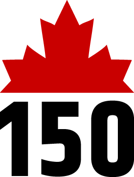 The CFL's Canada 150 logo, which will be seen as a helmet decal throughouut the 2017 season