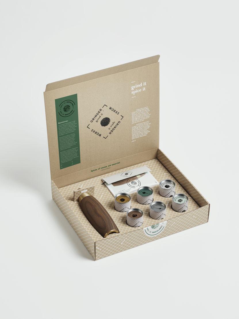 Grinderworks Pepper experience box