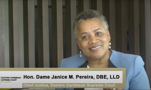 ECSC Launch of its E-Litigation Portal in Grenada and E-Litigation Documentary
