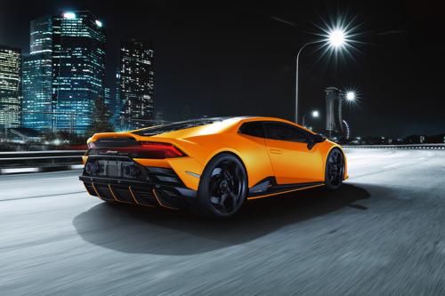 Daring elegance: Automobili Lamborghini presents the Huracán EVO Fluo Capsule