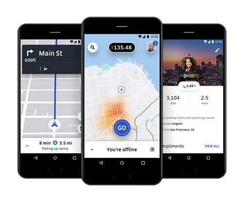 TomTom et Uber renforcent leurs liens dans la cartographie