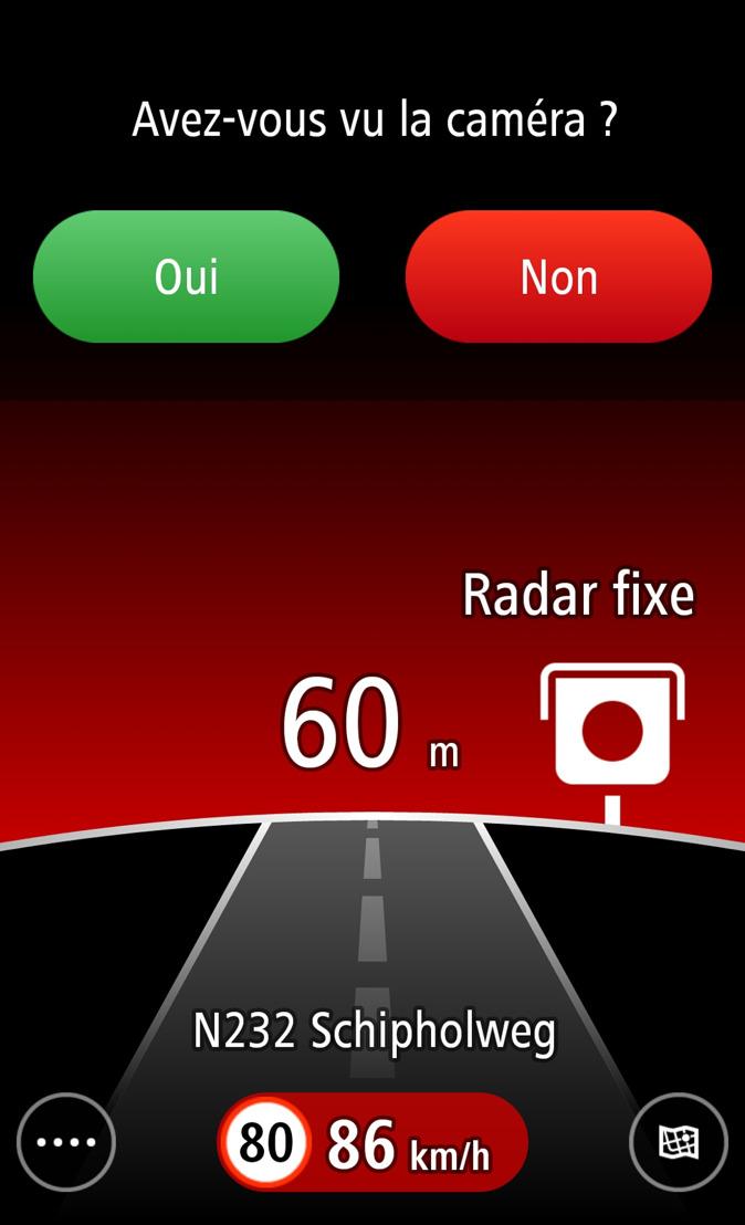 L'application TomTom Radars désormais disponible sur Google Play