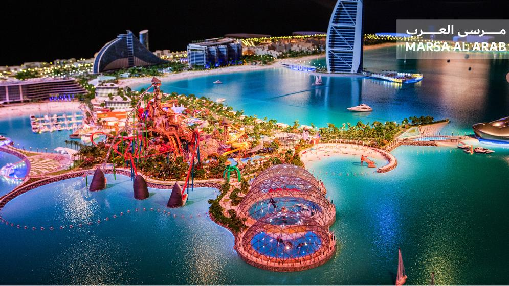 Marsa Al Arab Island 2 - Madinat Jumeirah. Estimated completion date: Q3 2020