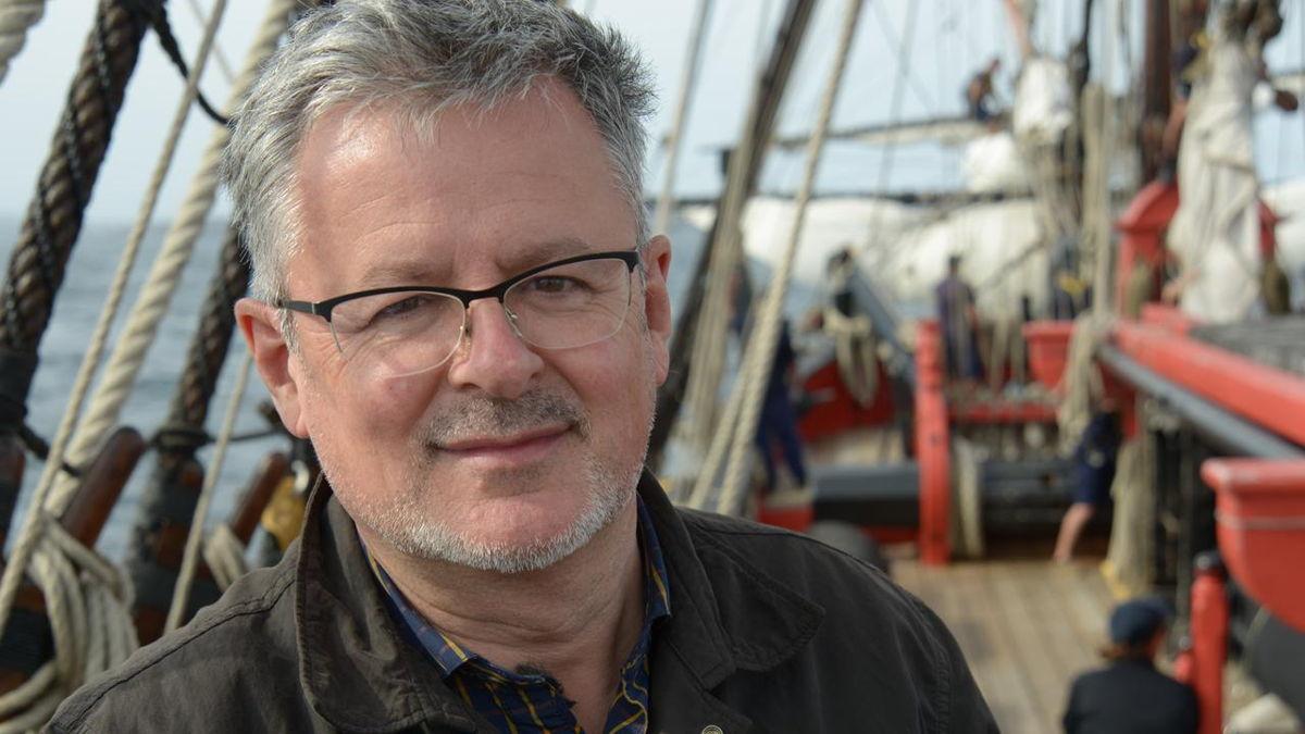 Christopher Clark op zee - (c) ZDF
