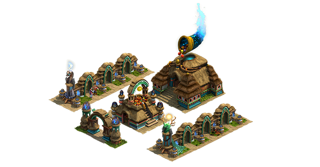 Harvest Festival - Harvest Temple Set