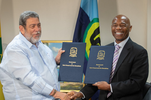 CDB Provides US$5.3 million for St. Vincent and the Grenadines Volcano Recovery