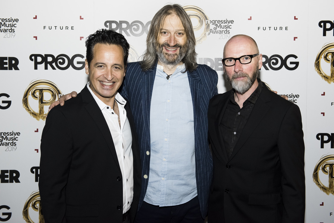 Sweetwater Studios' Nick D'Virgilio and Big Big Train Win Album of The Year at Prog Awards 2019