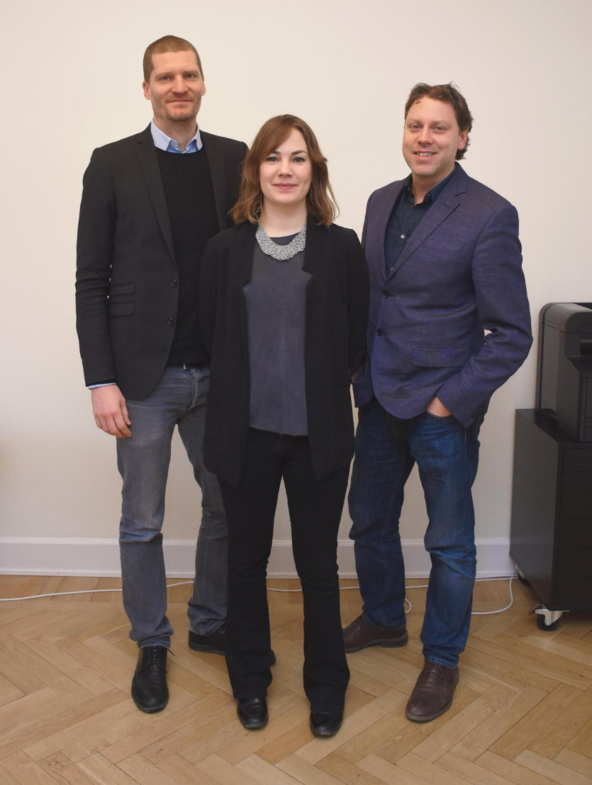 Het management van Dempsey : Richard von Yxkull, Erika Vestman, et Joel Wahlström