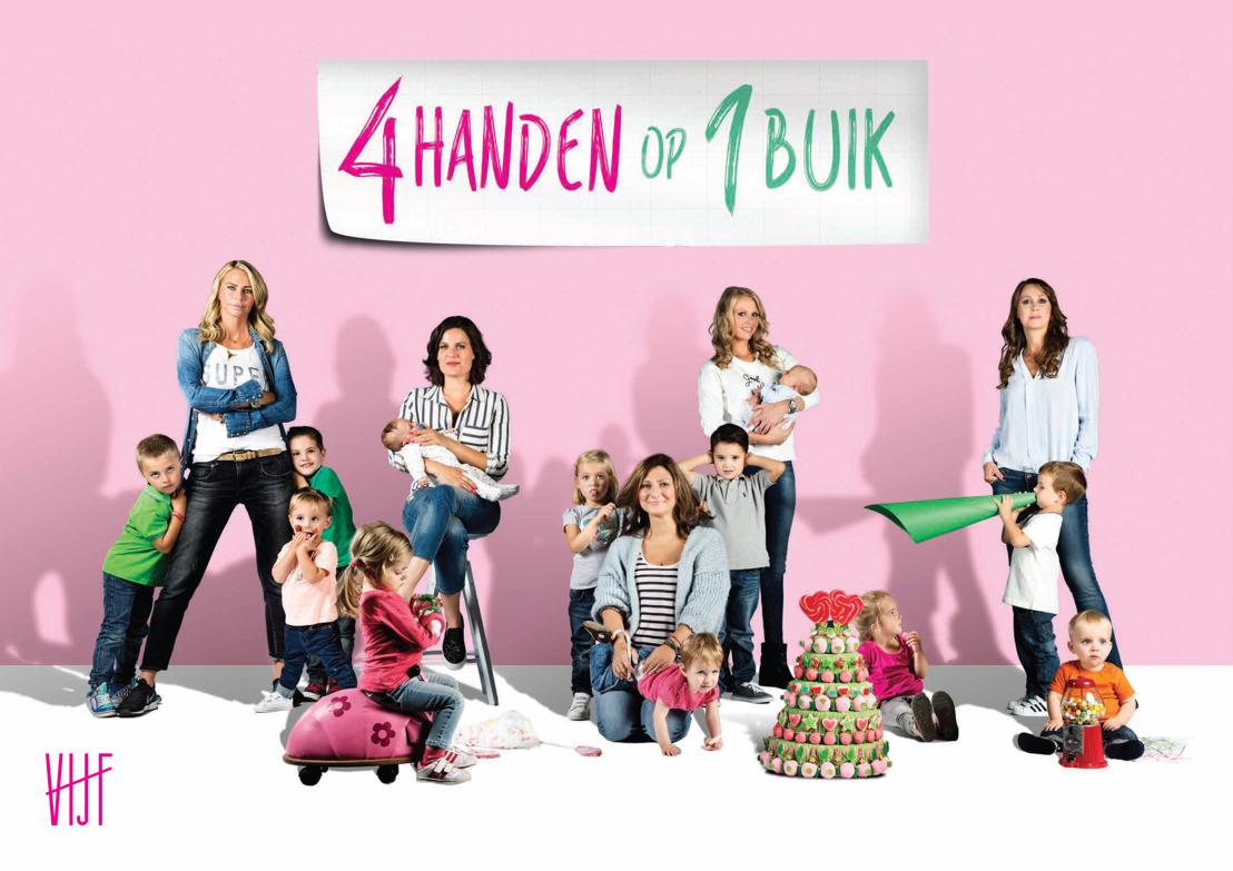 """Ellemieke Vermolen helpt tienermama Julie morgen in  """"Vier handen op één buik"""""""