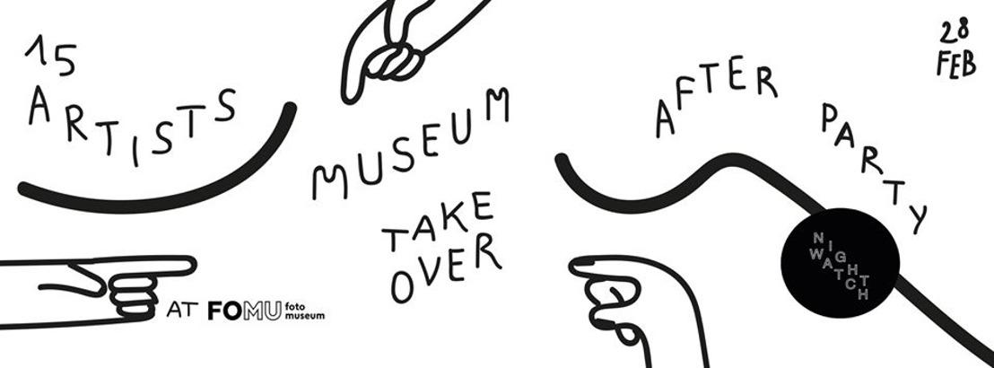 NIGHTWATCH MUSEUM TAKE OVER JONG TALENT KAAPT FOMU 28/02/20