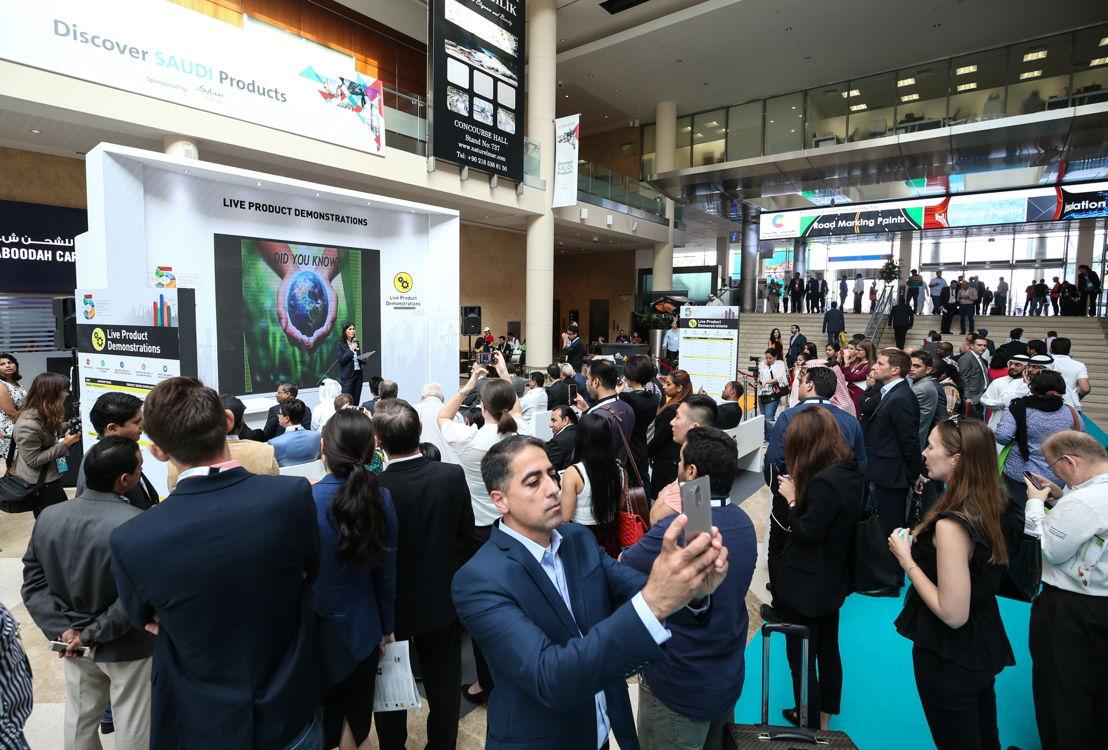 Audience at The Gaia Awards at The Big 5 Dubai 2016
