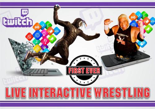 TWITCH PLAYS WRESTLING: Die weltweit erste interaktive Wrestling-Liveshow!