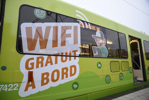 « WiFi à bord » : plus de 90% des voyageurs ravis de l'expérience pilote du TEC