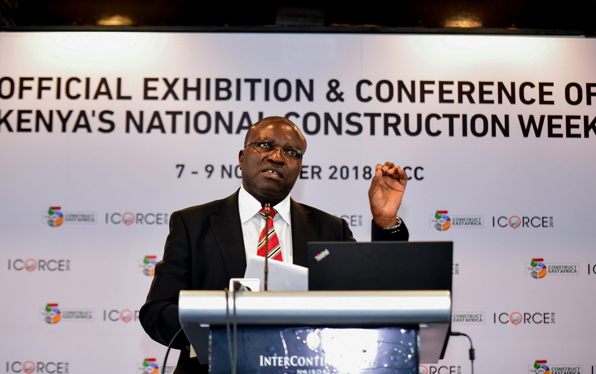 Mackenzie Kiilu representing Charles Hinga Mwaura, Principal Secretary, State Department of Housing and Urban Development, Ministry of Transport, Infrastructure, Housing and Urban Development.