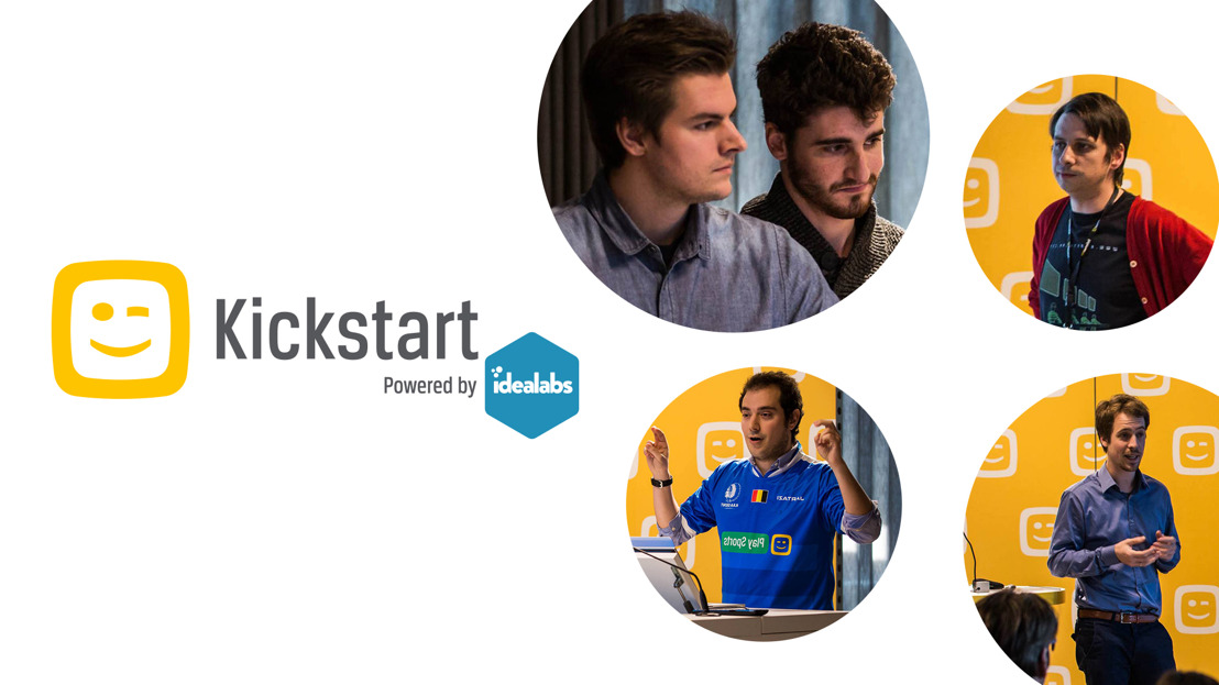 4 sterke finalisten op het Demo Day Event van Telenet Kickstart powered by Idealabs.
