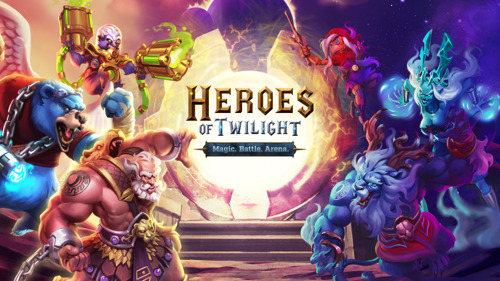 gamigo enthüllt neues Mobile-Strategiespiel Heroes of Twilight