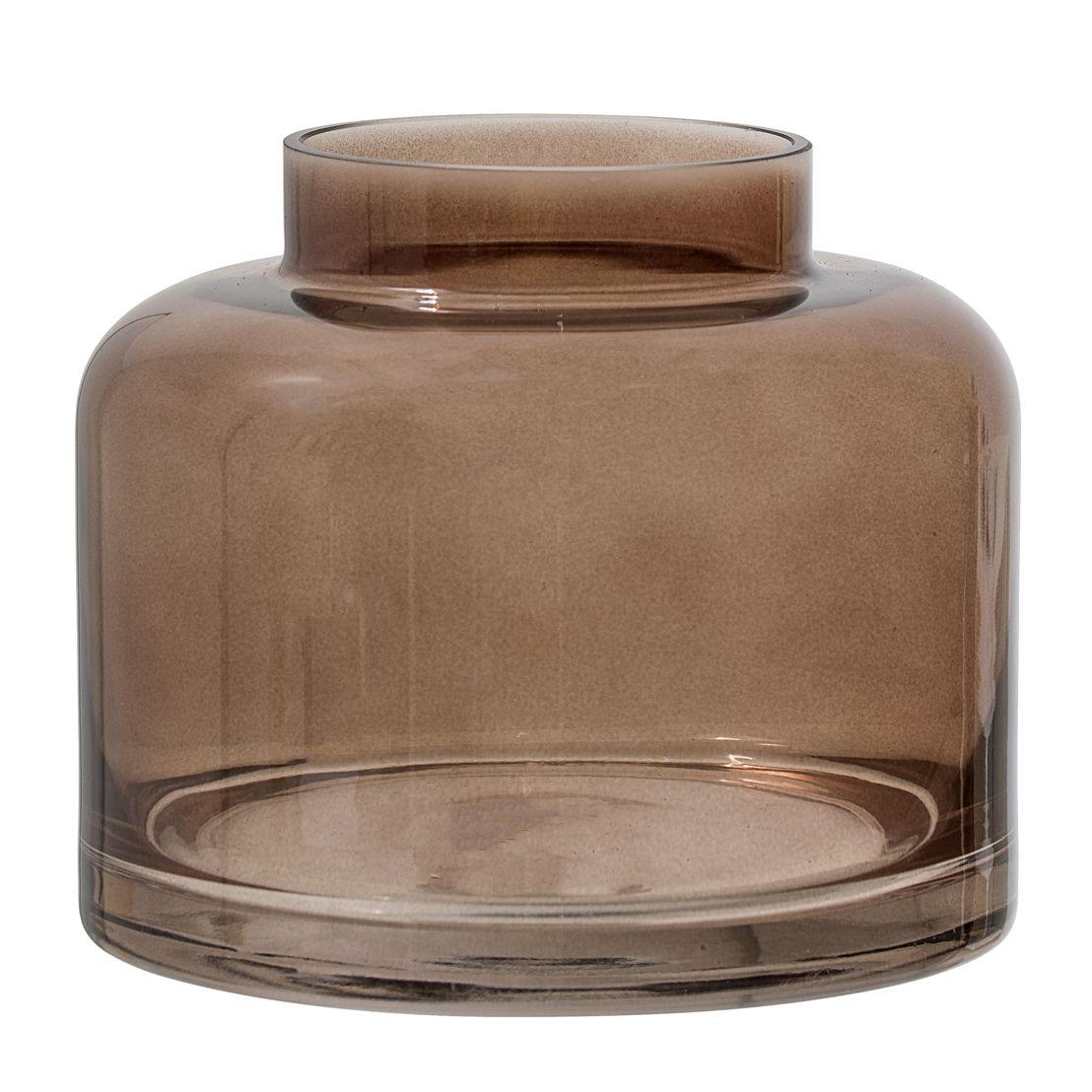 Bloomingville Vaas glas, bruin - €22