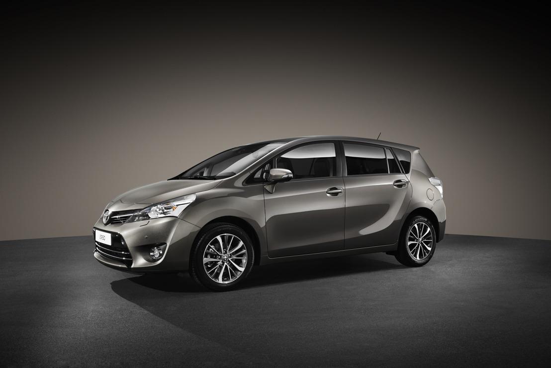 De Verso 2016 introduceert Toyota Safety Sense, een opgewaardeerd interieur, nieuw ontworpen lichtmetalen velgen en een nieuwe koetswerkkleur