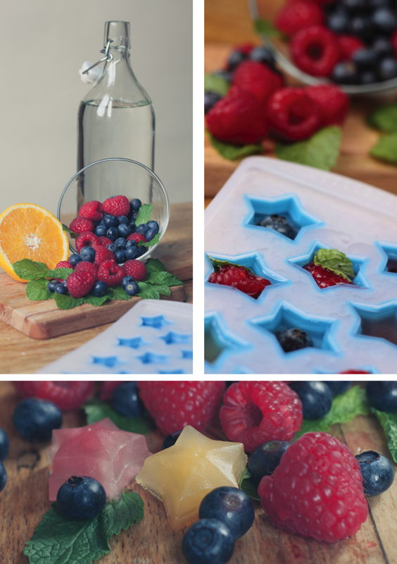 Lay's Oven Stars DIY Fruity Ice Cubes