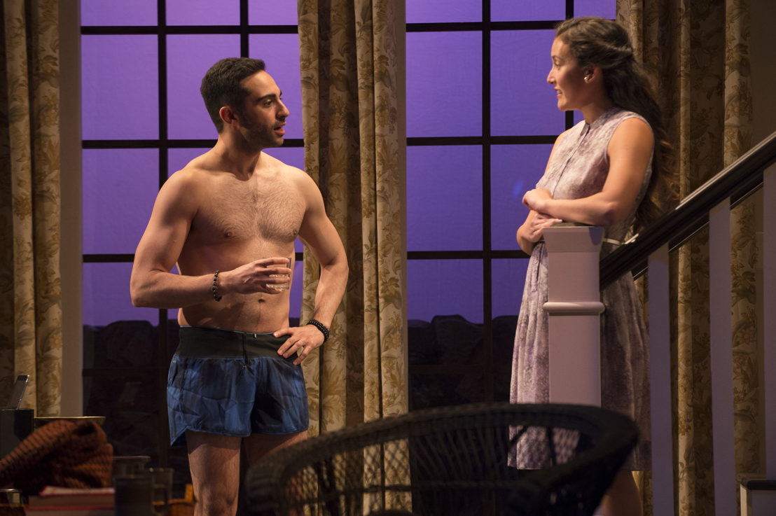 Lee Majdoub and Yoshié Bancroft in Vanya and Sonia and Masha and Spike by Christopher Durang / Photos by David Cooper