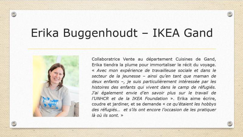 Erika Buggenhoudt - IKEA Gand