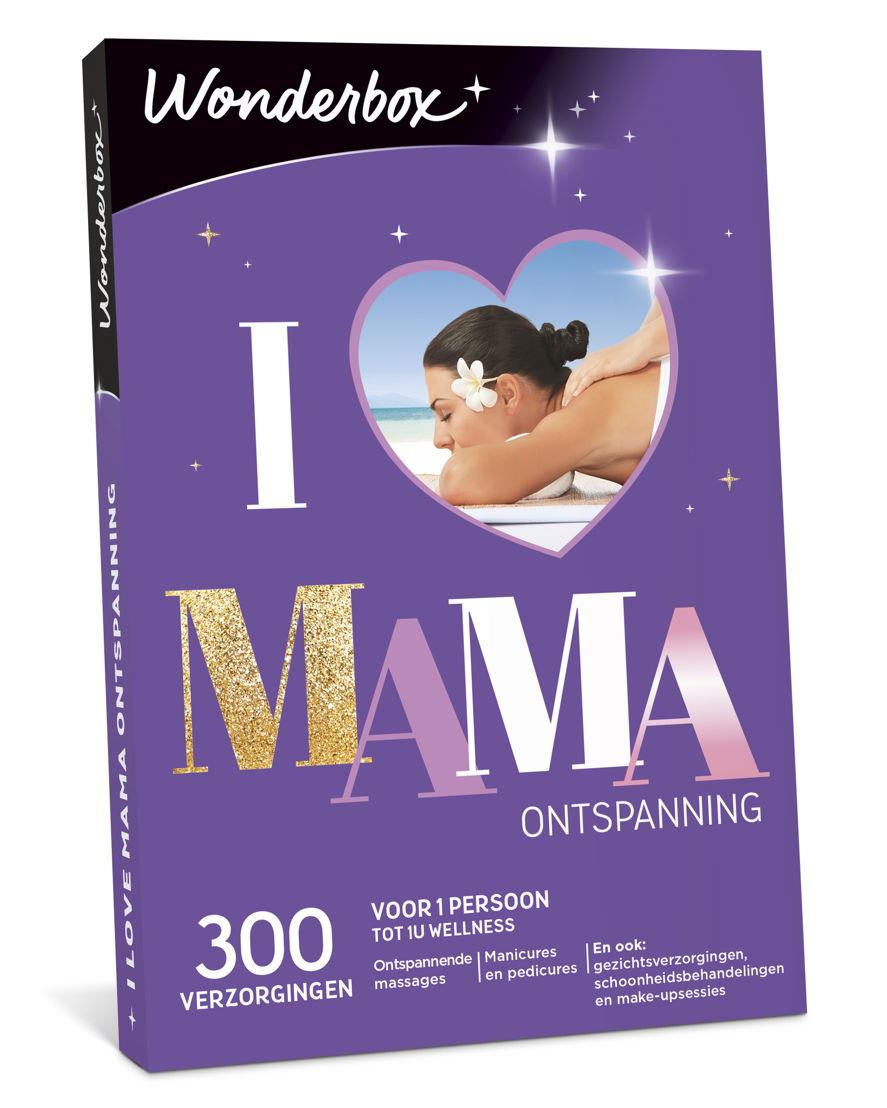 "Wonderbox ""I Love Mama Ontspanning"": €29,90"