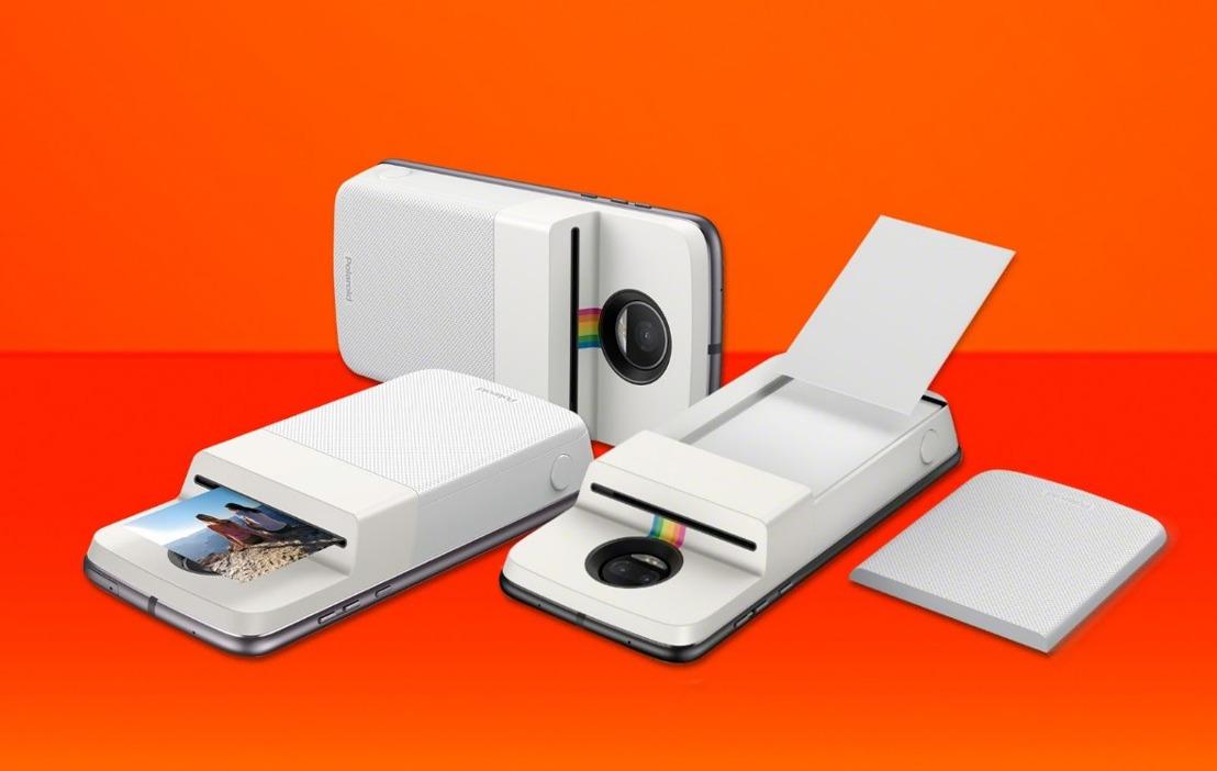 Klik, print en deel overal foto's met de Polaroid Insta-Share Printer MotoMod