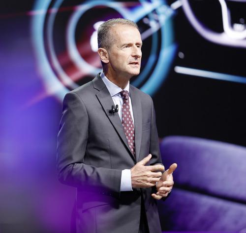 """Con NEW AUTO, reinventaremos Volkswagen"": CEO Herbert Diess, en la Junta General Anual"