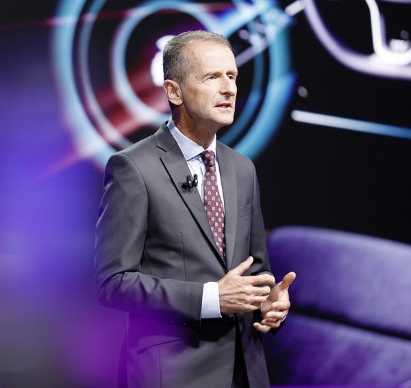 "Preview: ""Con NEW AUTO, reinventaremos Volkswagen"": CEO Herbert Diess, en la Junta General Anual"