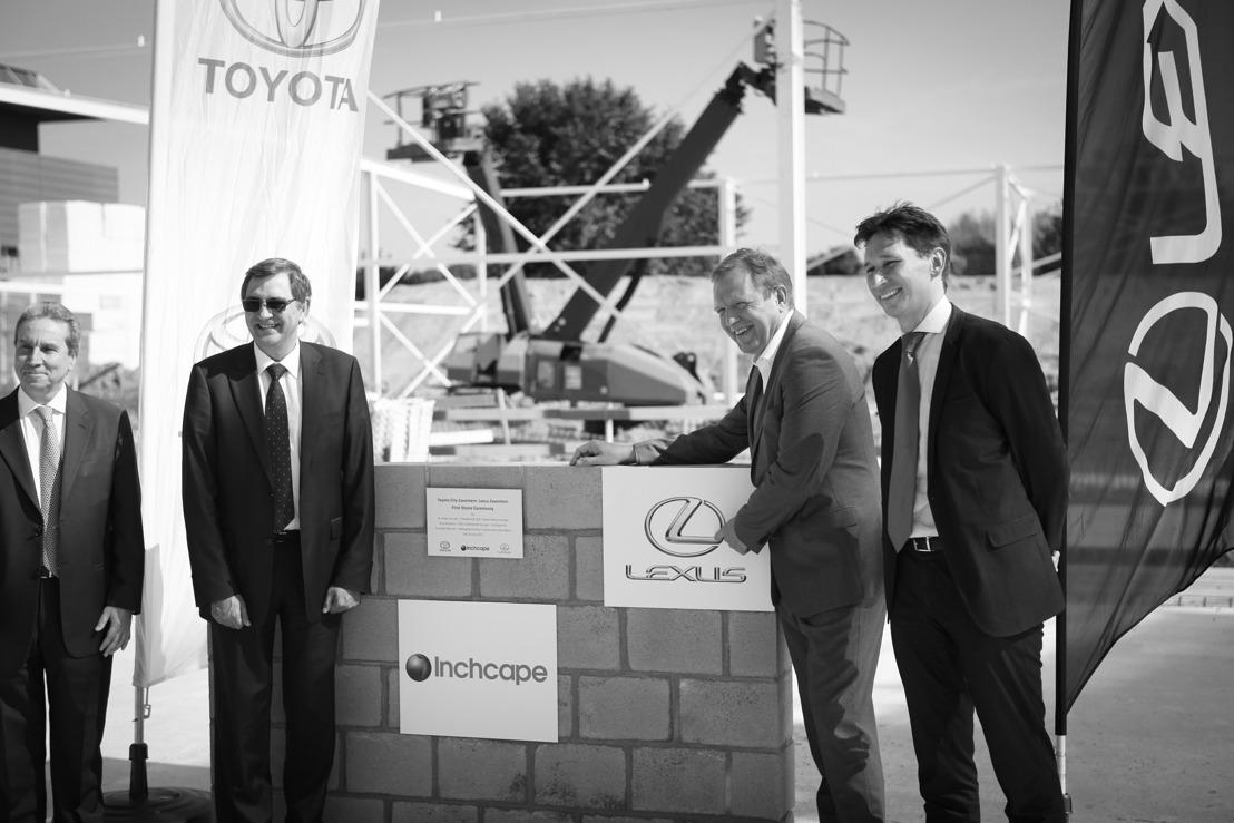 Lexus en Toyota bouwen gloednieuwe showrooms in Zaventem