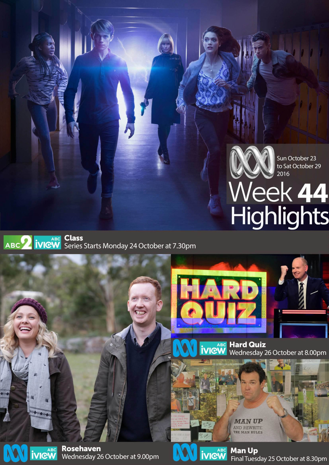 ABC Program Highlights - Week 44