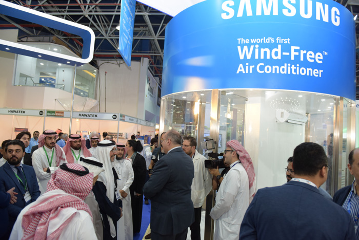 The World's First Wind-Free™ air-conditioner by SAMSUNG is launched in Saudi Arabia