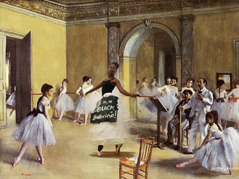 #BalletMustFall with Asisipho Malunga - credit Jared Musiker