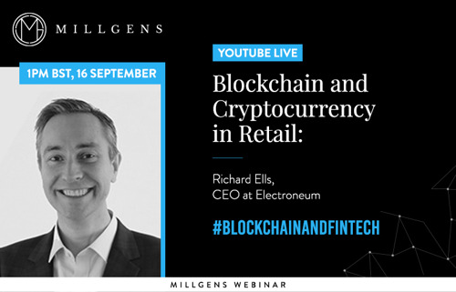 MILLGENS|Blockchain and Cryptocurrency in Retail: Richard Ells, CEO at Electroneum