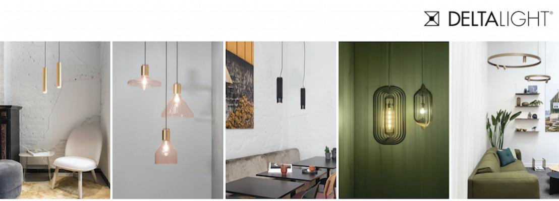 Delta Light sert un assortiment de lumières, de technologies, de formes et de couleurs au salon de l'horeca Equip'Hotel 2018 à Paris