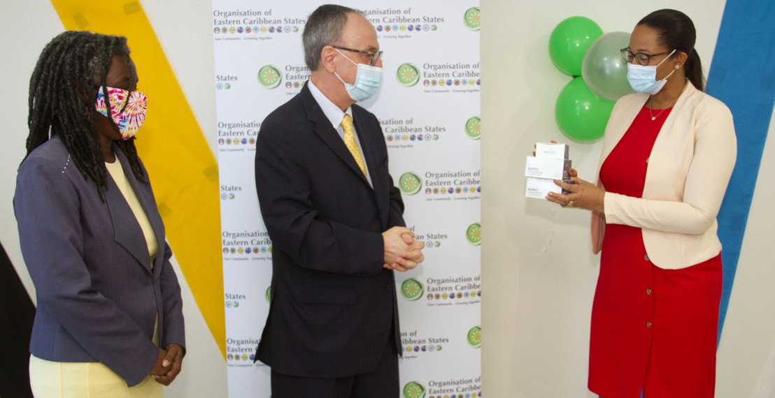 Government of Brazil donates 6000 RT-PCR COVID-19 Tests to the OECS