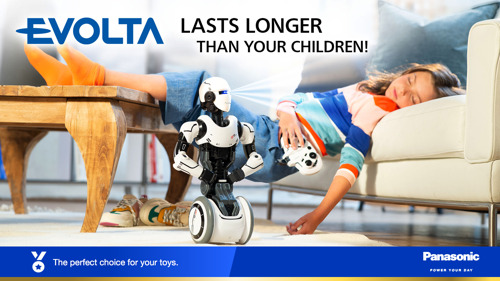 EVOLTA batteries showcase high performance and stability in children's favourite battery-operated toys