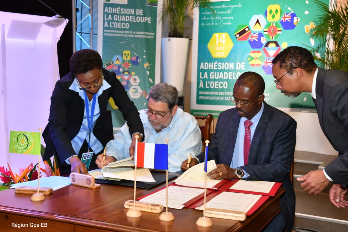 Guadeloupe formally joins the Organisation of Eastern Caribbean States