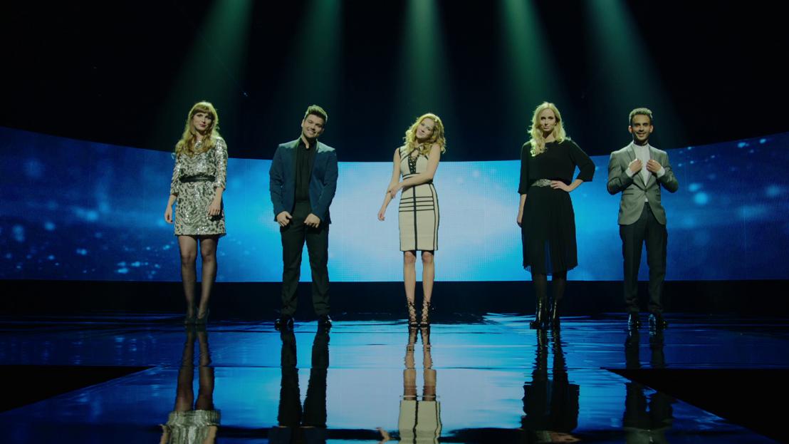 De vijf kandidaten van Eurosong 2016