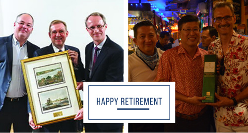 Sending our Well Wishes for Retirement