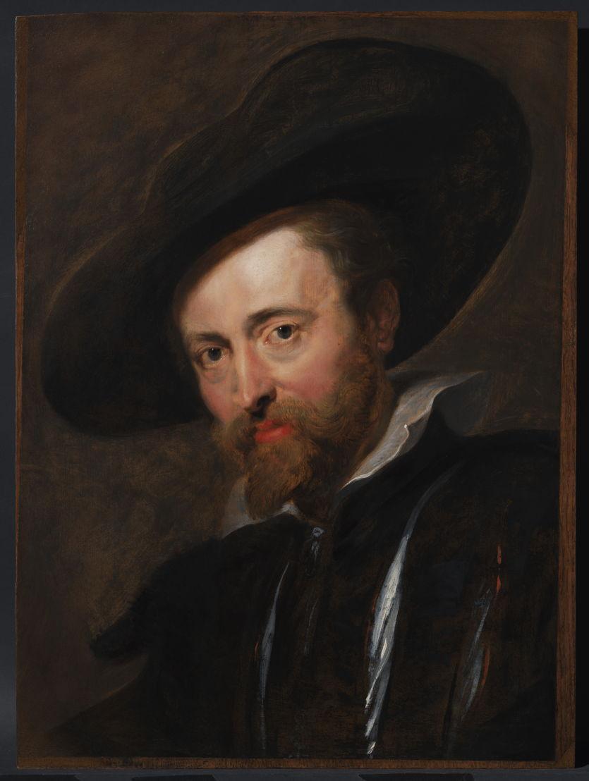 Peter Paul Rubens, Zelfportret, Rubenshuis Antwerpen, opname 12 april 2018, na restauratie KIK-IRPA, foto KIK-IRPA Brussel