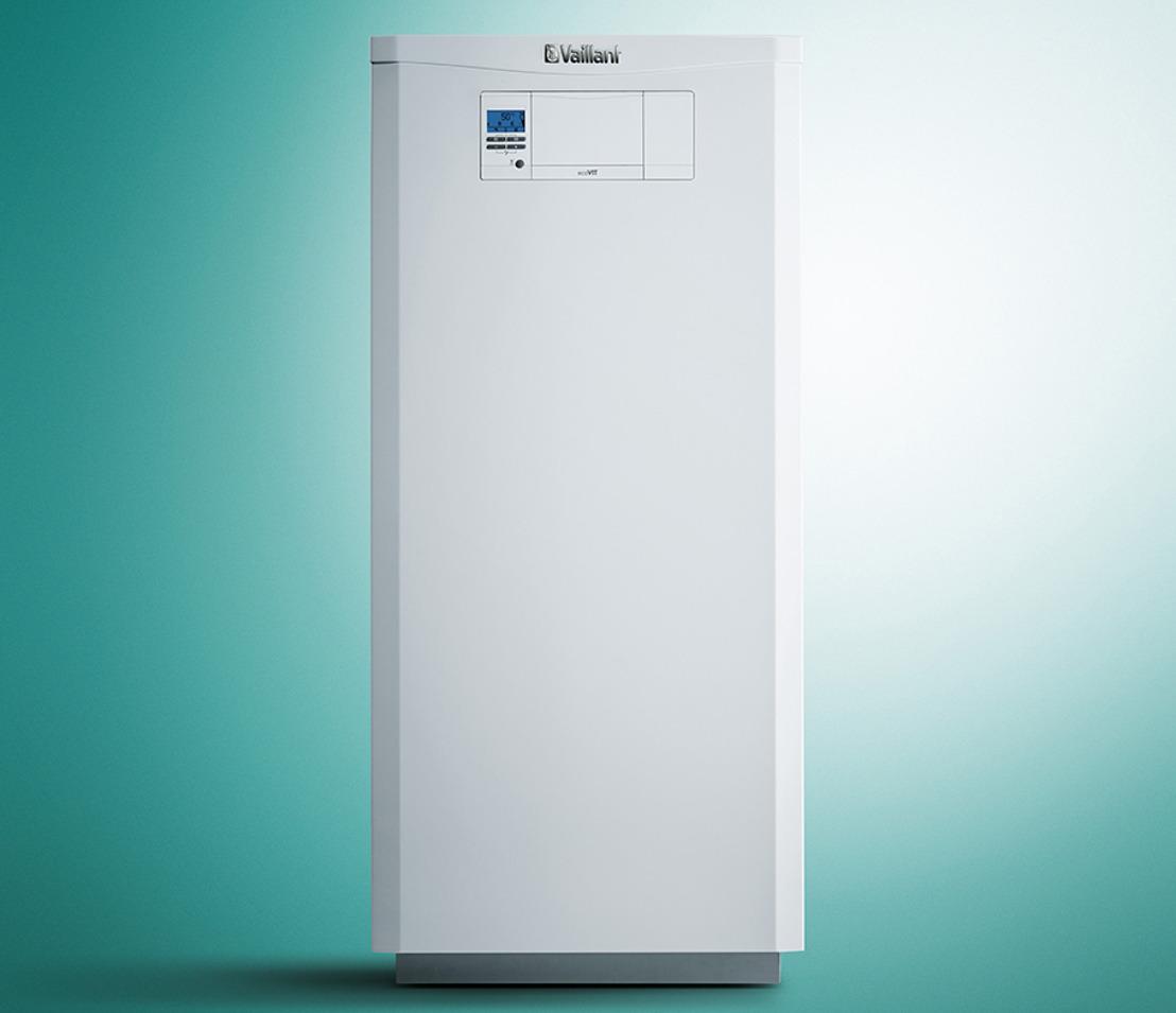 ecoVIT, de nieuwe condensatievloerketel op gas van Vaillant: de ideale oplossing om een oude vloerketel op gas of stookolie te vervangen